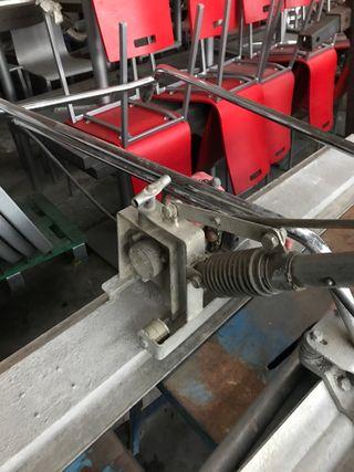 niveladora de cemento de motor