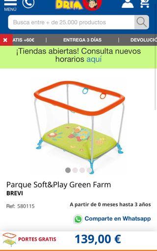 Parque infantil marca brevi