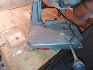 radial grande con soporte para cortes el ángulo