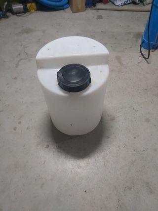 depósito bidon cloro o ph 50 lt bomba dosificadora