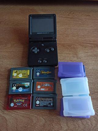 GameBoy Advance Sp + 6 Juegos