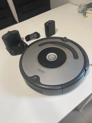 Robot aspirador Roomba 615 con pared virtual