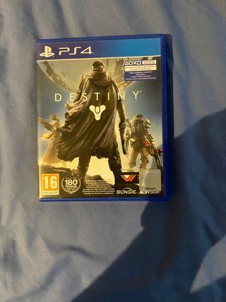 Vendo juego de la play 4 Destiny