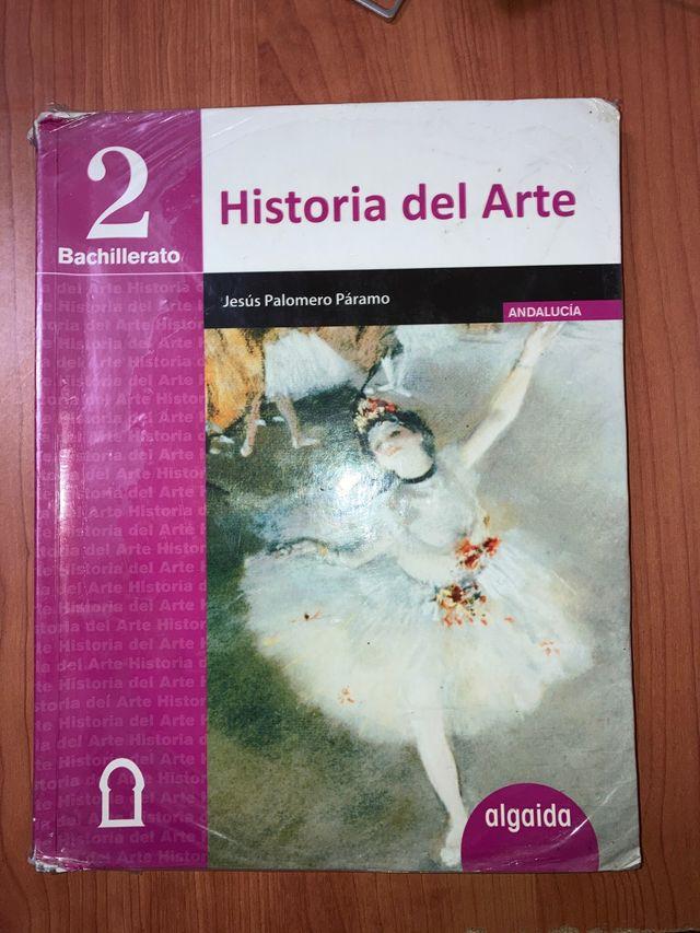 Libro Historia del Arte 2 Bachillerato Algaida