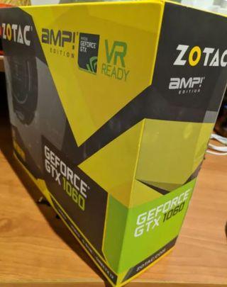 Tarjeta Gráfica Zotac GeForce GTX 1060 AMP Edition