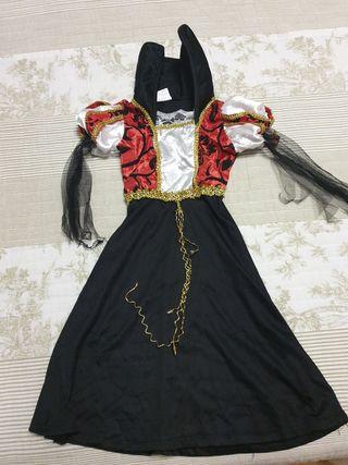 Disfraz vampira halloween bebe