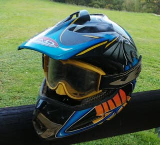 casco de cross