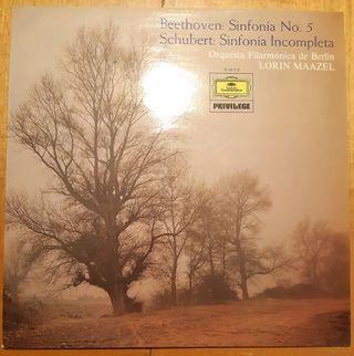 Beethoven Sinfonia n°5 - Schubert Sinfonia Incom.