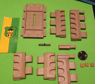 Piezas, repuesto castillo playmobil