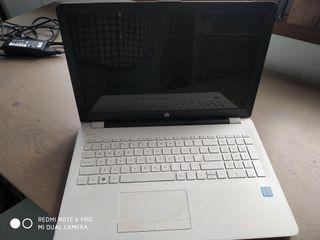 "PORTATIL HP NoteBook RTL8723DE 15"" BLANCO"