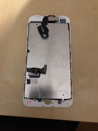 Pantalla iphone 8 plus blanca +camara