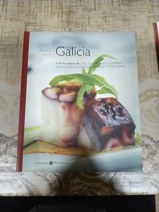 varios libros de recetas