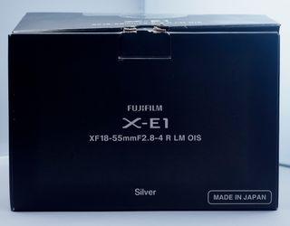 Fuji X-E1 + FUJINON ASPHERICAL LENS 18-55 1:2.8-4