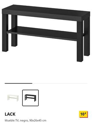IKEA mueble TV LACK de segunda mano por 5 </p></div> <!--bof Product URL --> <!--eof Product URL --> <!--bof Quantity Discounts table --> <!--eof Quantity Discounts table --> </div> </dd> <dt class=