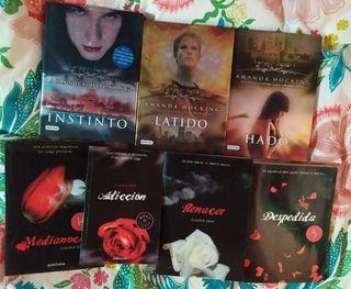 Libros juveniles vampiros