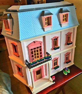 Casa mansión romántica playmobil