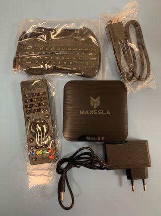 Smart TV Box Android 7.1 - Maxesla MAX-S II