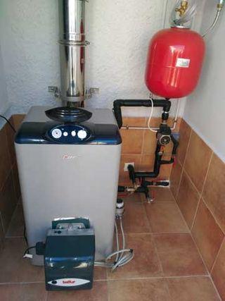 Reparación/Mantenimiento de Calderas de Gasoil/Gas