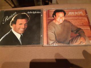 2 CD JULIO IGLESIAS, ORIGINALES