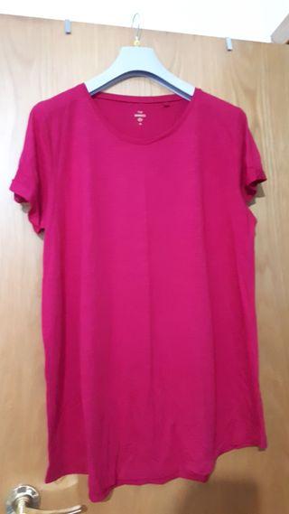 jersey talla grande rosa