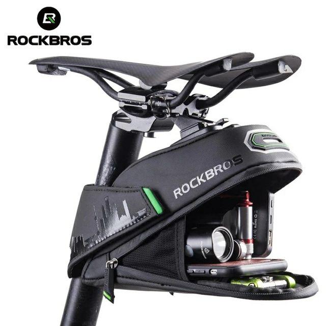 ROCKBROS Rainproof Bicycle Bag Shockproof Bike Sad