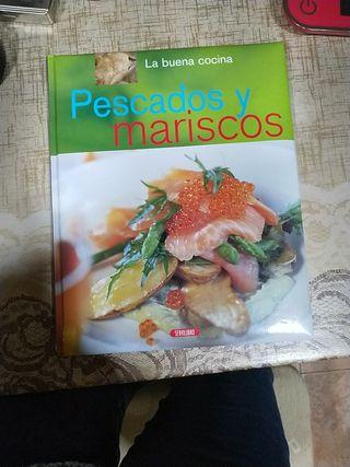 libro de recetas pescados y mariscos