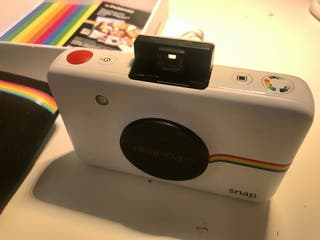Cámara Polaroid original sin estrenar