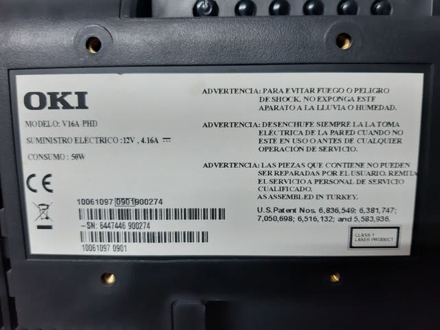 Televisor OKI 16 pulgadas TDT