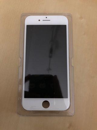 Pantalla iphone 7 blanca y en negra