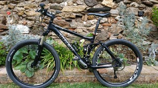 Bicicleta BTT doble. Talla M