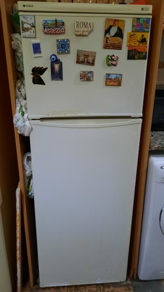 Frigorífico, refrigerador, nevera.