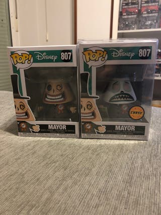 FUNKO POP - MAYOR #807 (normal y chase)