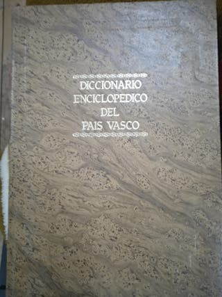 diccionario enciclopédico de la país vasco