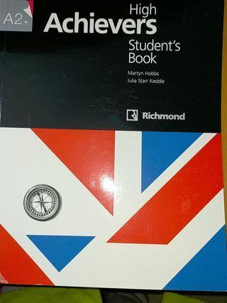 libro de Inglés Achievers de Rchmond