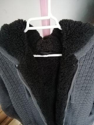 chaqueta de lana nueva