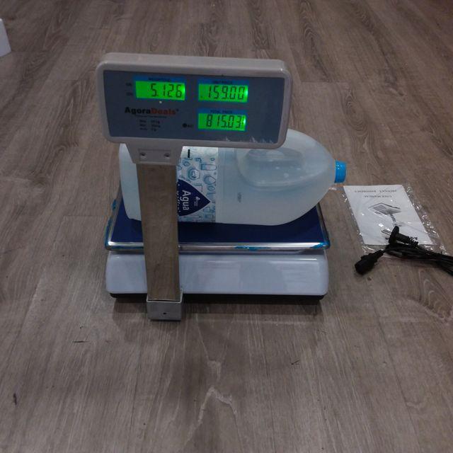 Bascula Comercial 50kg/2g Con Ticket, 33x24cm