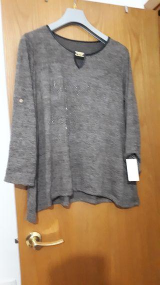 blusa nueva talla grande sin usar
