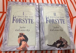 Libros completos Saga Forsyte de John Galsworthy