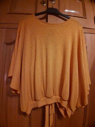 Blusa mostaza de M&S.talla grande 46-56 aprox.