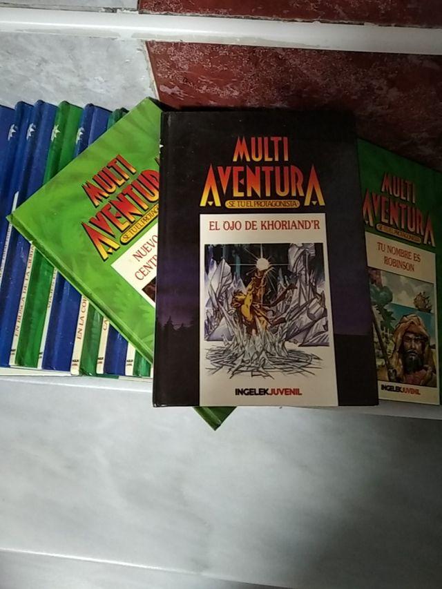 Libros Multiaventuras