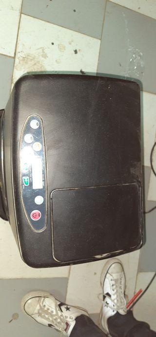 Estufa de parafina digital.