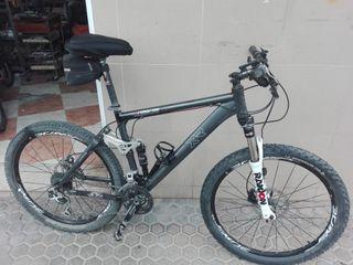 "bici BTT Skoda doble amortiguacion rueda de26"""