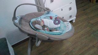 Columpio bebé con sonido y vibración