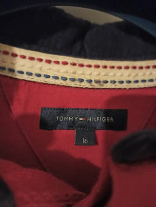 Polo Manga Larga Tommy Hilfiger