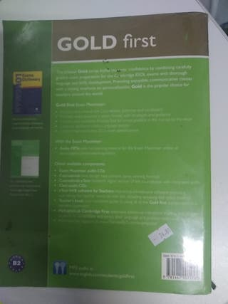 GOLD FIRST PEARSON