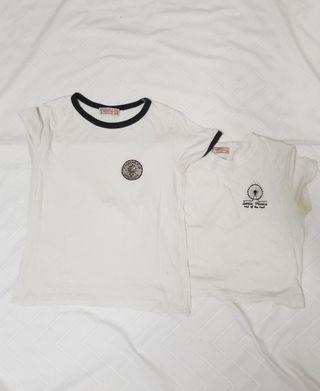 Pack Camisetas con logo bordado