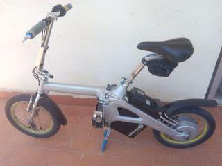 eBike bicicleta eléctrica plegable