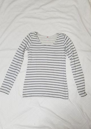 Camiseta básica a rallas