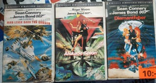 Lote vídeos VHS en sueco/inglés - VHS på svenska