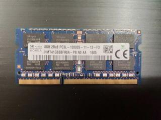 Módulo de Memoria Ram DDR3 8GB portátil